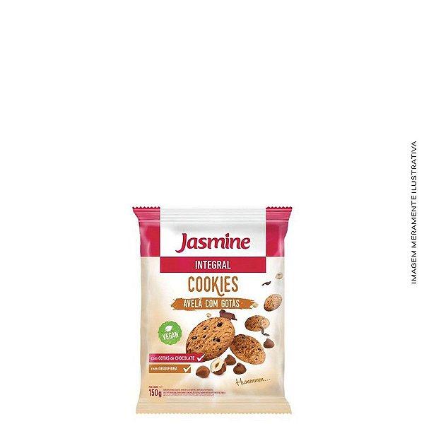 Cookies Integral de Avelã com Gotas de Chocolate 150g - Jasmine