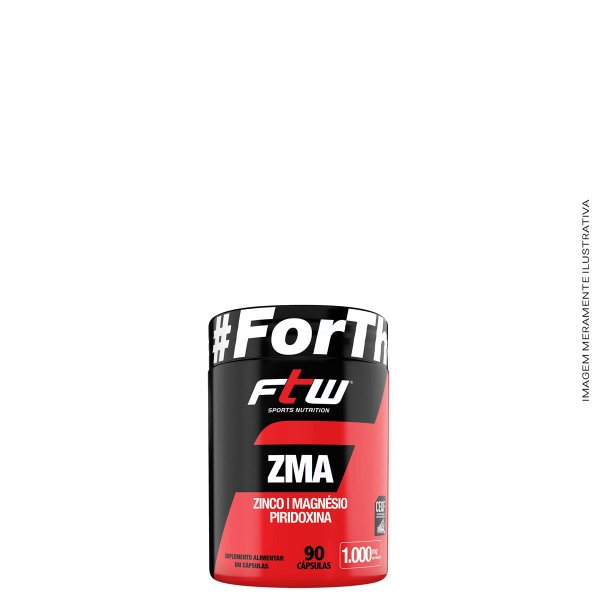 ZMA 1000mg  90 CÁPS - FTW
