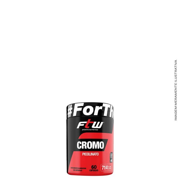 Cromo Picolinato 60 Caps. - FTW