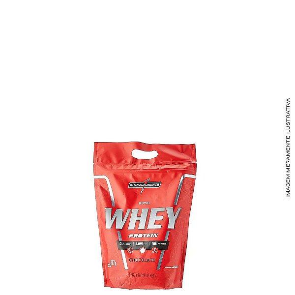Nutri Whey Protein Pouch 907g Hipercalórico - Integralmedica