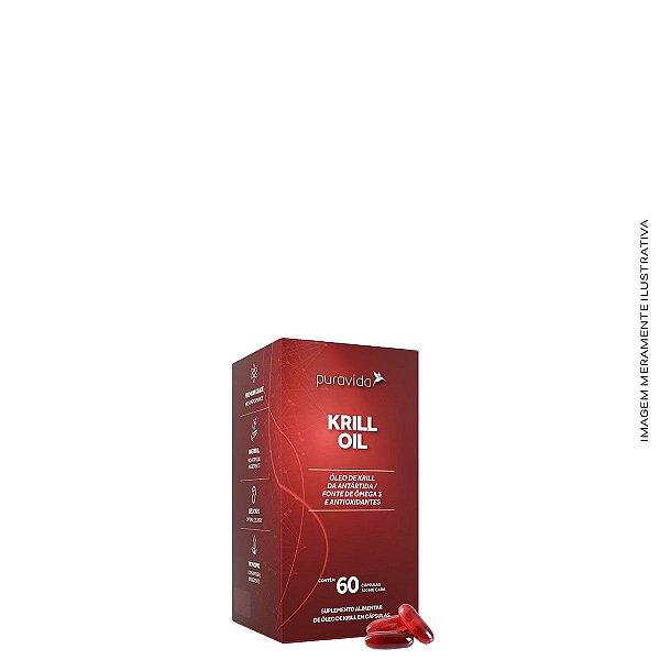 Krill Oil 60 cápsulas - Puravida