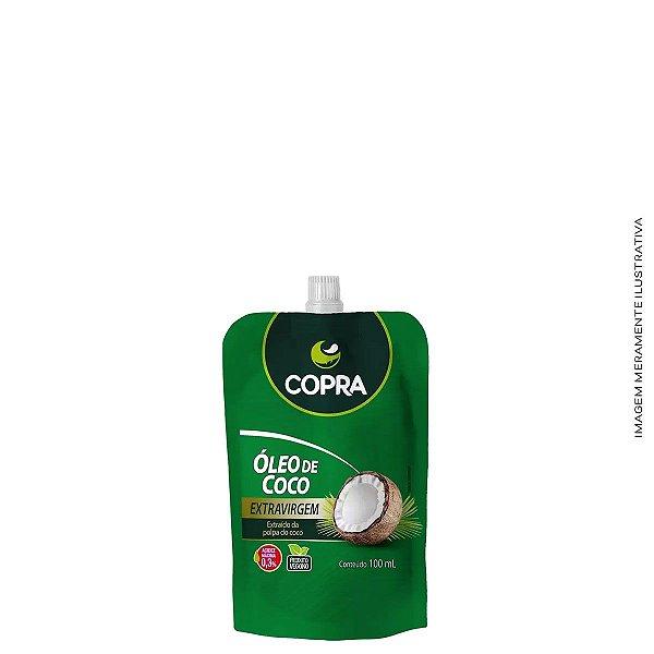 Óleo de Coco Extra Virgem Pouch 100ml - Copra