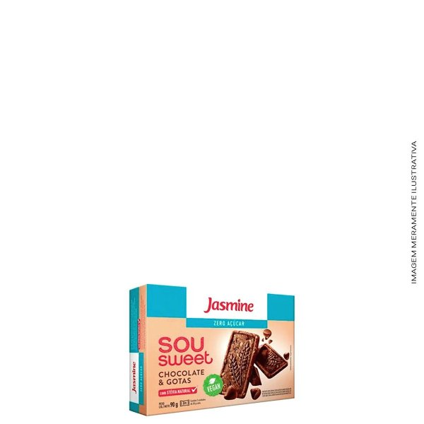 Sou Sweet Chocolate e Gotas 90g - Jasmine