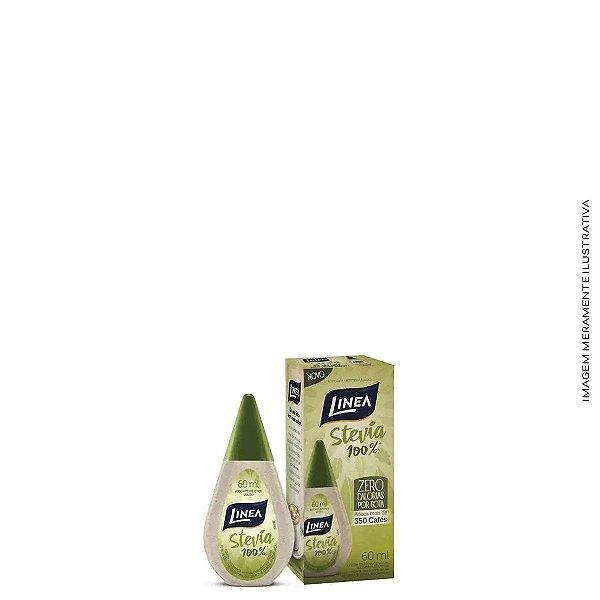 Adoçante Líquido Stevia 100% 60ml - Linea