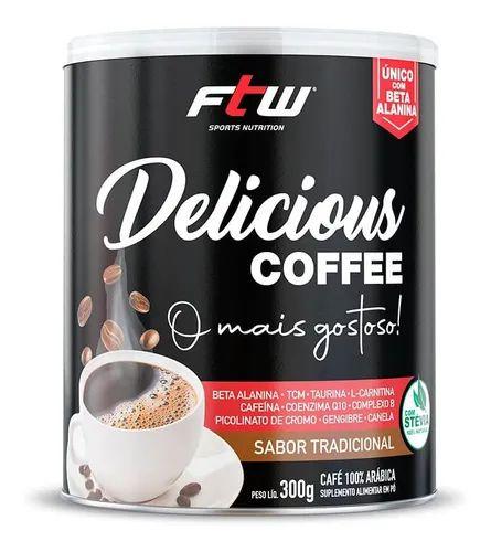 Delicious Coffe 300g Café Termogênico - FTW