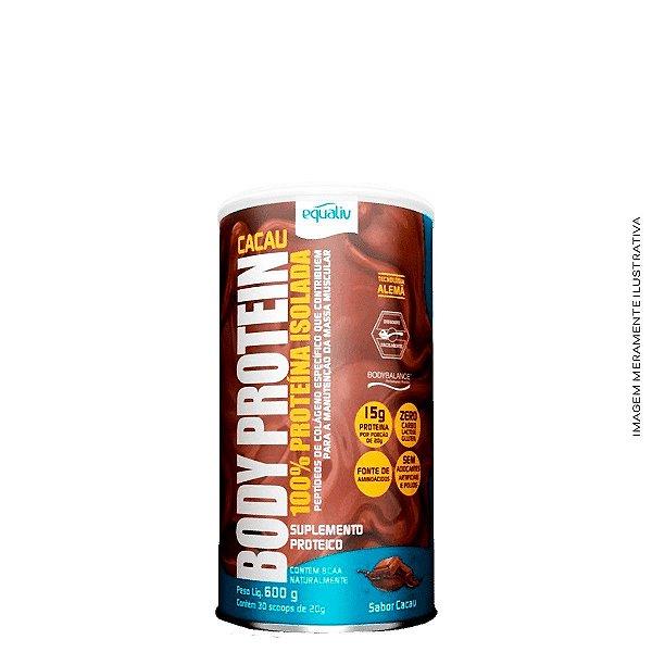 Body Protein 450g Proteína Isolada Sabor Cacau - Equaliv
