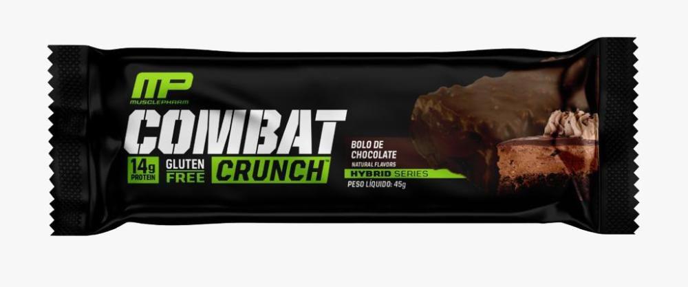 Combat Crunch Barra de Proteína 45g Morango - Musclepharm
