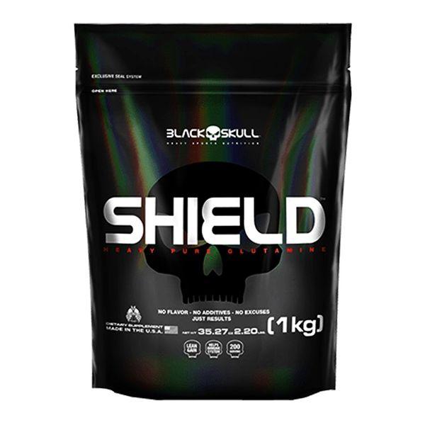 Shield 1Kg  Glutamina - Black Skull