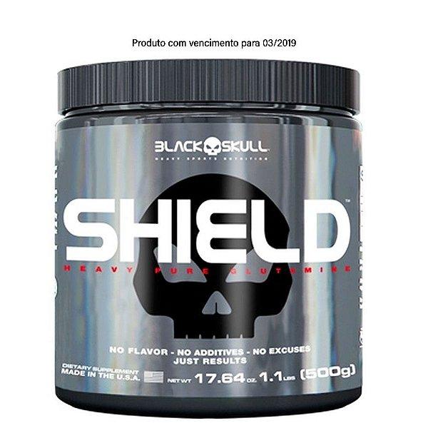 Shield 500g  Glutamina - Black Skull