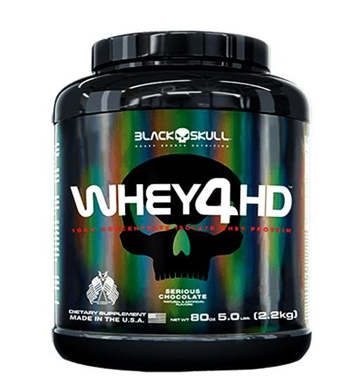 Whey 4HD 2,2Kg 5Lbs - Black Skull