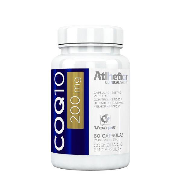 CoQ10 (Coenzima) 200 mg - 60 Cápsulas - Atlhetica