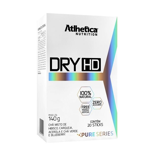 Dry-HD Pure Series - 20 Sticks - Atlhetica