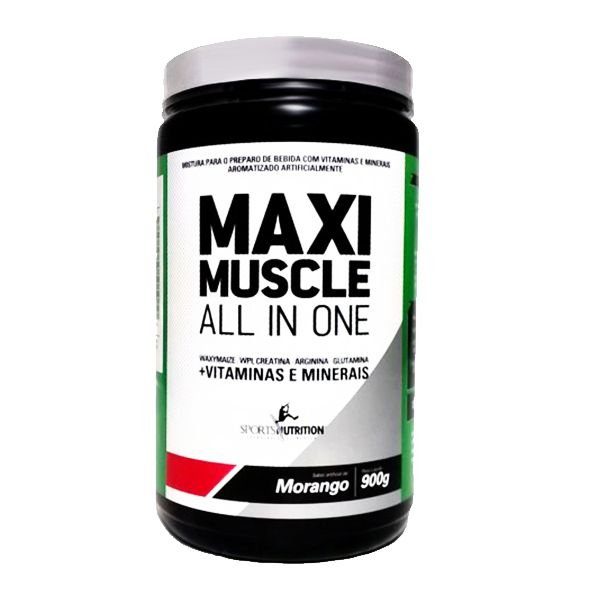 Maxi Muscle All In One 900g - Sports Nutrition