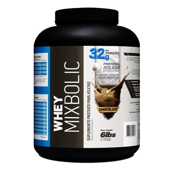 Whey Mix Bolic 2,722g - Sports Nutrition