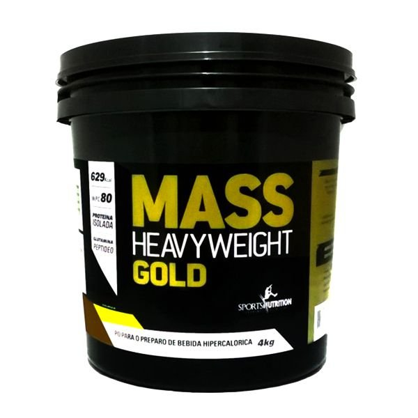 Mass Heavyweight Gold 4Kg - Sports Nutrition