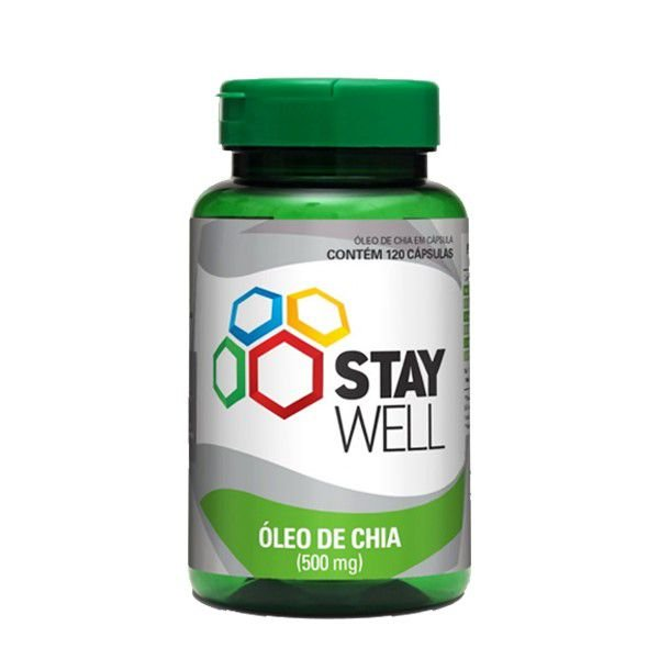 Óleo de Chia 60 Cápsulas Stay Well - Sports Nutrition