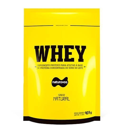 Whey Protein 907g 80% - Naturovos