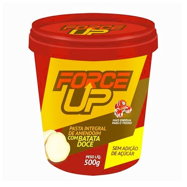 Pasta de Amendoim Integral com Batata Doce 500g - Force Up
