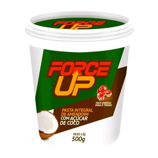 Pasta de Amendoim Integral com Açúcar de Coco 500g Force Up