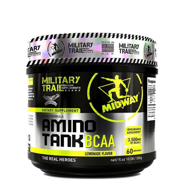 BCAA MIlitary Trail Amino Tank 3500 - 300g - MidWay USA