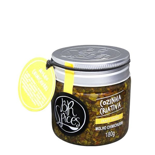 Pote Molho Chimichurri - 180g- Br Spices