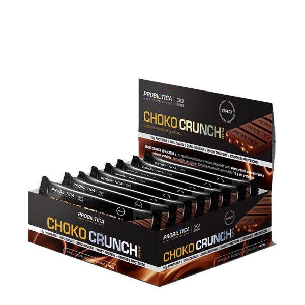 Choko Crunch (Caixa com 12unidades de 40g) - Probiótica