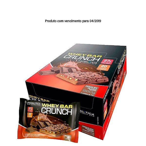 Whey Bar Crunch (Caixa com 8 unidades de 70g) - Probiótica