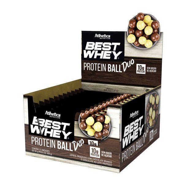Best Whey Protein Ball (Caixa com 12 un de 50g) - Atlhetica