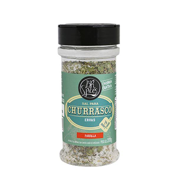 Sal de Churrasco com Ervas - 200g - Br Spices