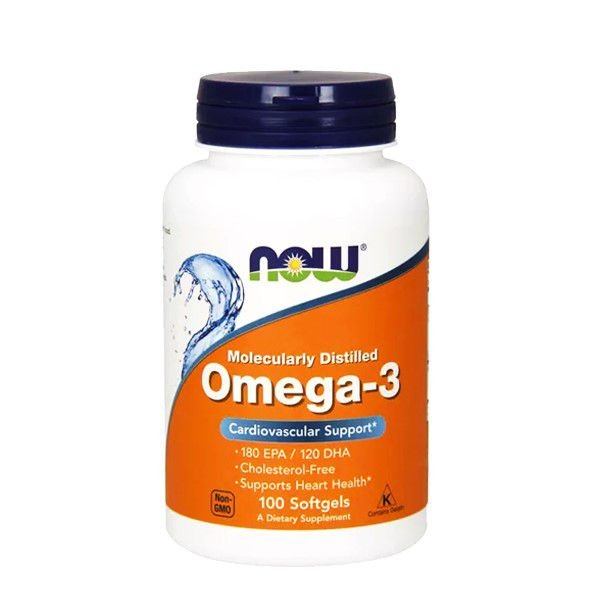 Dha-250 (Omega 3) 120 Cápsulas - Now Sports