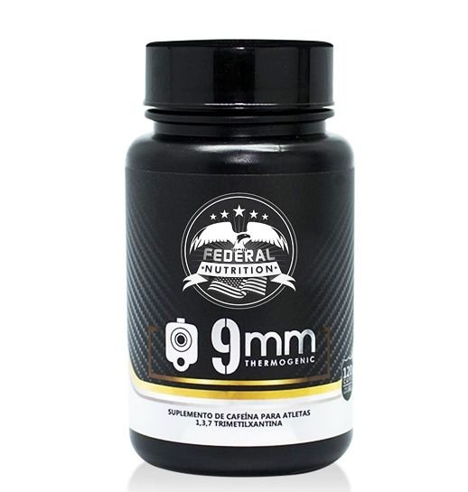 9mm Termogênico - 120 Cápsulas - Federal Nutrition