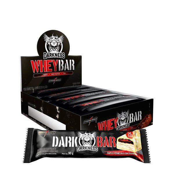 Whey Bar Darkness (Cx com 8 unidades de 90g) Integralmedica