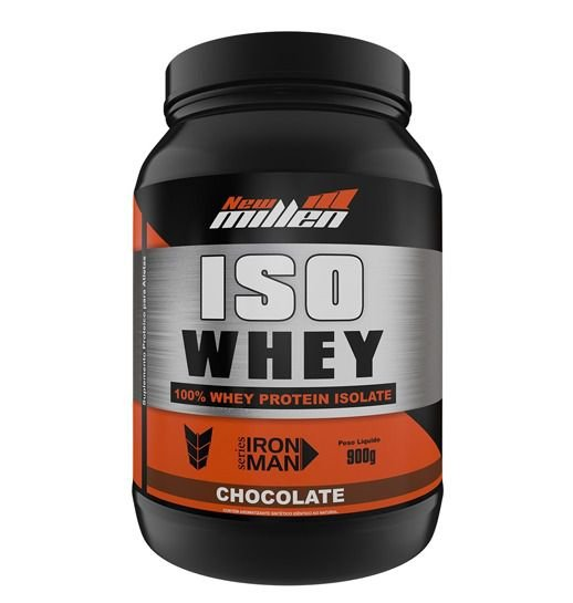 Iso Whey 100% Whey Protein Isolate 900g - New Millen