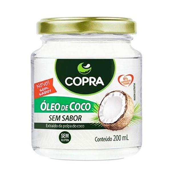 Óleo de Coco sem Sabor 200ml - Copra Coco