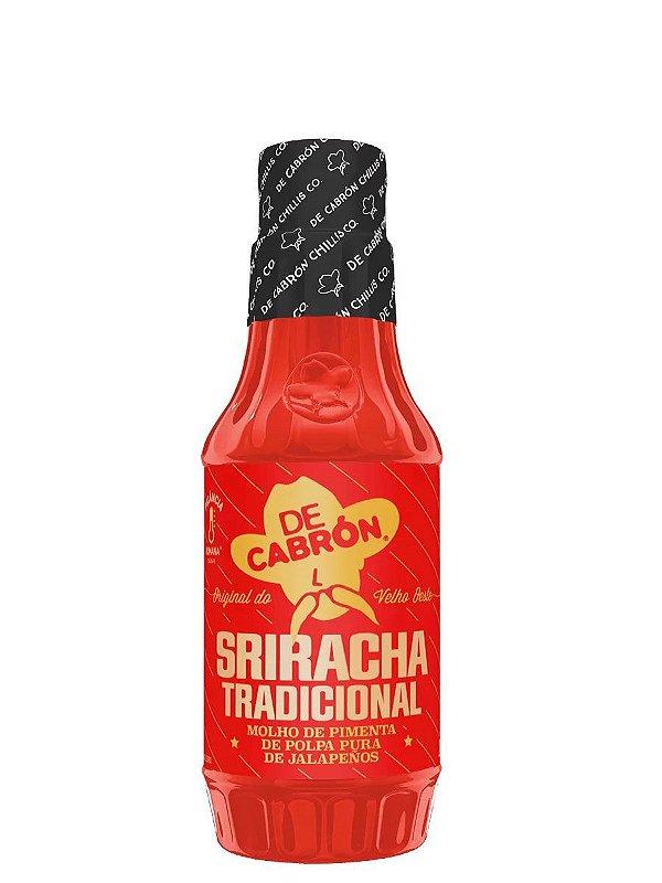 Molho de Pimenta Sriracha Tradicional 266ml De Cabrón