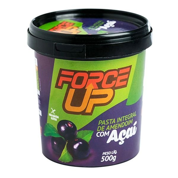 Pasta De Amendoim Integral Açaí 500g - Force Up