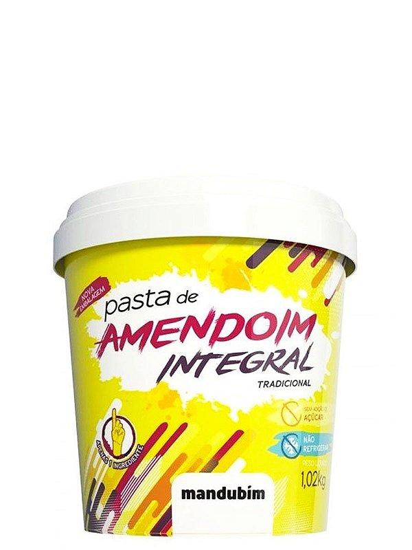 Pasta de Amendoim Integral - 1,02Kg - Mandubim