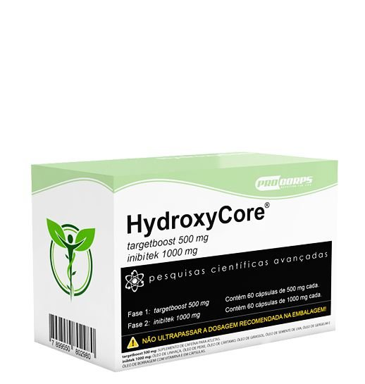HydroxyCore - 120 Cápsulas - Pro Corps