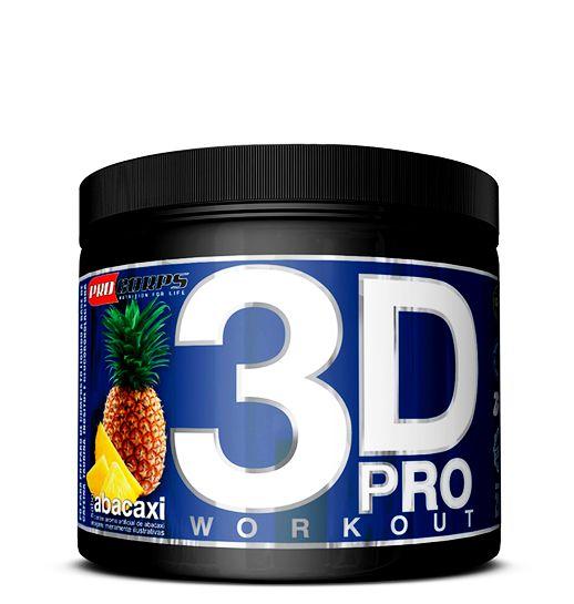 3D Pro Workout Pré Treino - 200g - Pro Corps