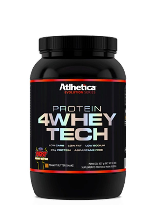 4 Whey Tech - 907g - Atlhetica