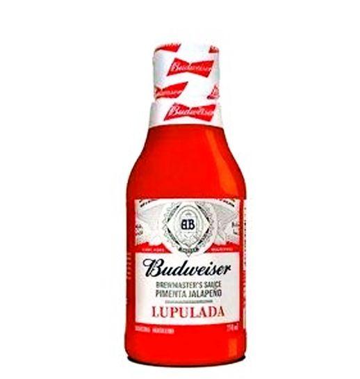 Molho de Pimenta Budweiser 210ml De Cabrón - Sabores