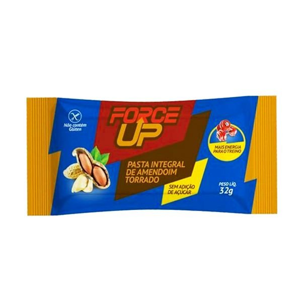 Sachê Pasta de Amendoim Torrado - 32g - Force Up