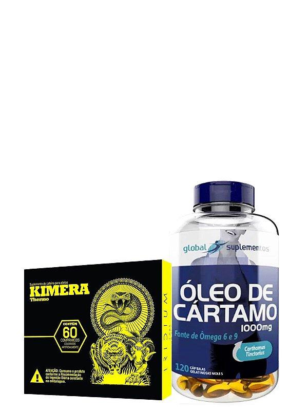 Kit Kimera 60 Comprimidos + Óleo de Cártamo 120 Cápsulas