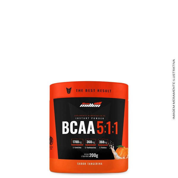 Bcaa Powder 5:1:1 200g - New Millen