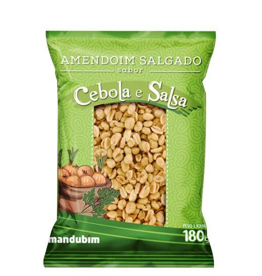 Amendoim Torrado - Cabola e Salsa - 180g - Mandubim