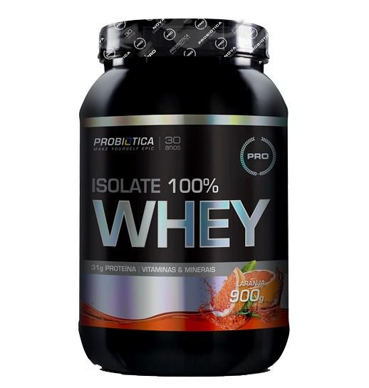 Isolate 100% Whey 900g Probiotica