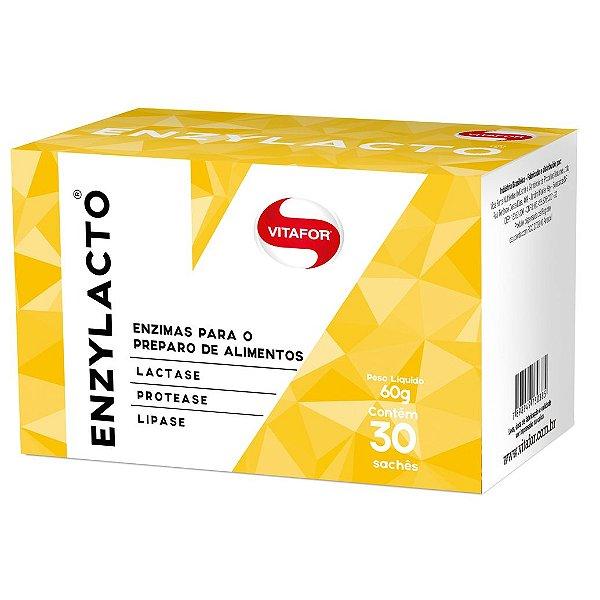 Enzylacto 30sachês 60g Vitafor