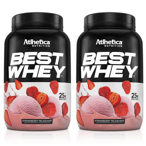 2un Whey Protein Best Whey 900g Atlhetica