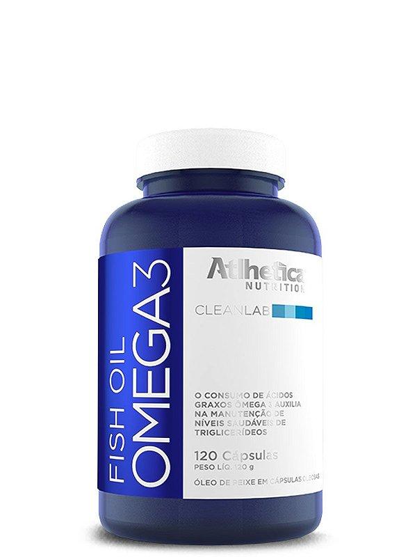 Omega3 Fish Oil 120caps Atlhetica
