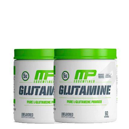 2 unidades de Glutamine Pure 300g Muscle Pharm